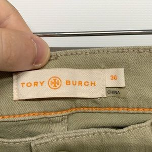 Tory Burch Jeans - Tory Burch | Emmy Snap Olive Ankle Skinny Jeans